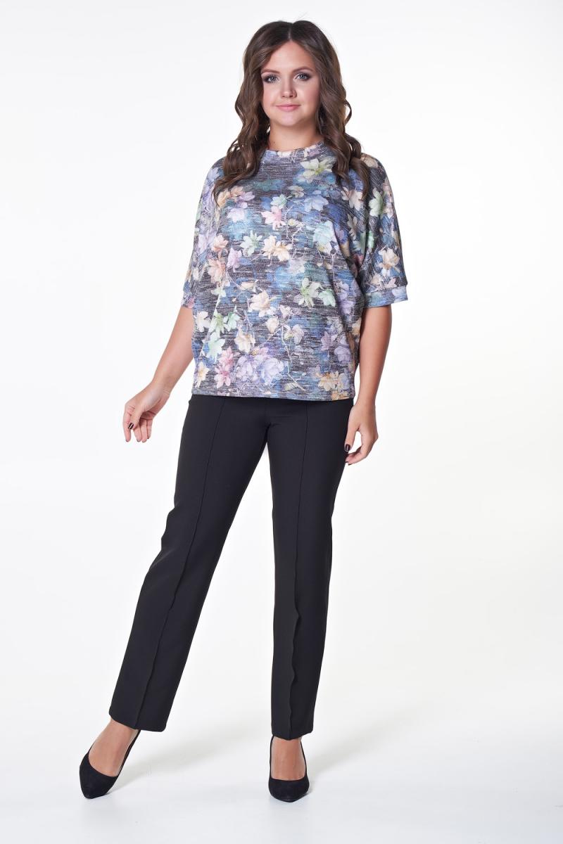 Блузка Андре (цветы) №2 бренда Valentina
