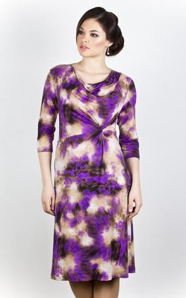 Платье 255 сиреневые вспышки