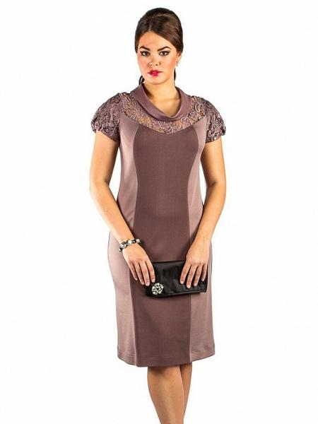 Платье 231 какао