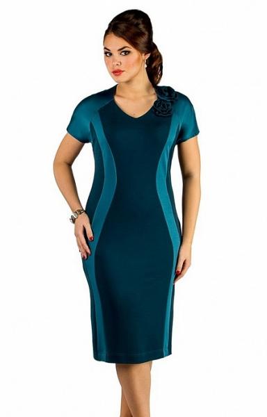 Платье 226 изумрудный