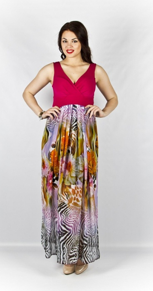 Платье 195 розовый